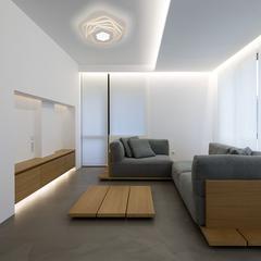 Светодиодный потолочный светильник с пультом управления Eurosvet Salient 90152/6 белый