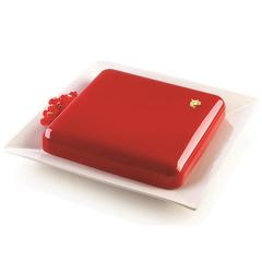 Форма для приготовления торта Quadro 21 х 21 см силиконовая Silikomart 20.417.13.0065