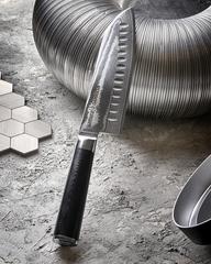 Нож кухонный Сантоку 18см Samura Damascus SD-0094/Y