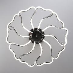 Светодиодный потолочный светильник Eurosvet Begonia 90095/10 хром