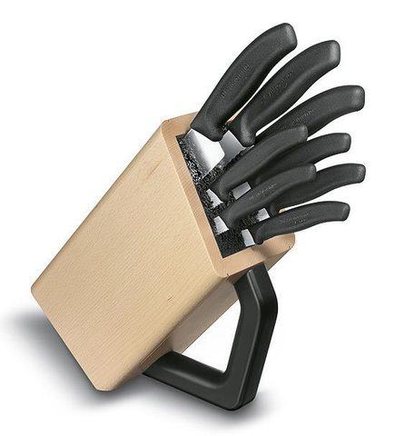 Набор Victorinox кухонный, 8 предметов, в подставке MV-6.7173.8