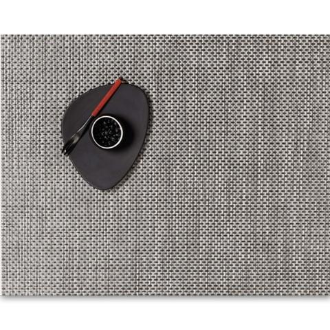 Салфетка подстановочная, жаккардовое плетение, винил, (36х48) Oyster (100110-022) CHILEWICH Basketweave арт. 0025-BASK-OYST