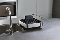 Сушилка для посуды раздвижная Extend Steel серая Joseph Joseph 85153