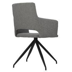 Кресло Berg Camila, рогожка, серое UCH-CATRF08