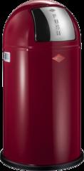 Ведро для мусора с заслонкой 50л Wesco Pushboy 175831-58