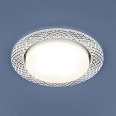 Алюминиевый точечный светильник 1071 GX53 WH белый Elektrostandard
