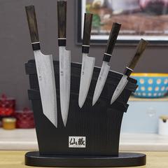 Комплект из 5 ножей Suncraft Senzo Black и подставки 207505614