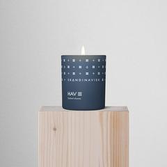 Свеча ароматическая HAV с крышкой, 65 г (новая) SKANDINAVISK SK20204