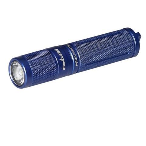 Фонарь-брелок светодиодный Fenix E05 Cree XP-E2 R3 LED, синий, 85 лм, 1-ААА