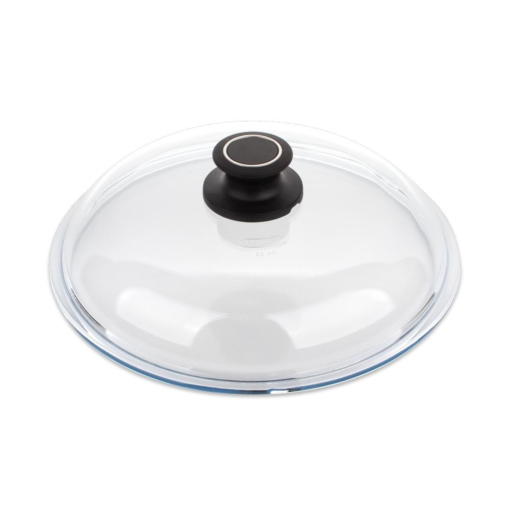 Крышка стеклянная 32 см AMT Glass Lids арт. AMT032