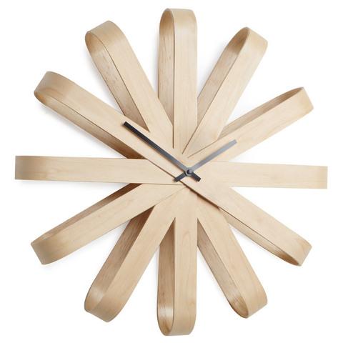 Часы настенные Umbra ribbon дерево 118071-390