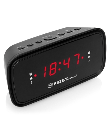 Радиочасы FIRST FA-2406-6-Black