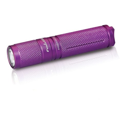 Фонарь-брелок светодиодный Fenix E05 Cree XP-E2 R3 LED, фиолетовый, 85 лм, 1-ААА