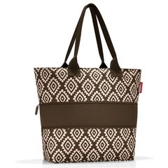 Сумка Reisenthel Shopper E1 diamonds mocha RJ6039