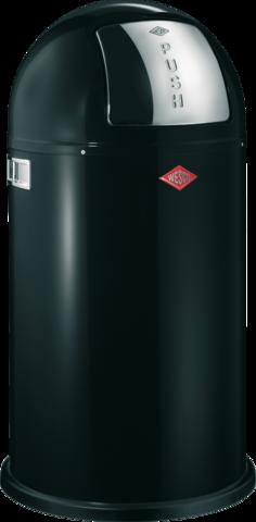 Ведро для мусора с заслонкой 50л Wesco Pushboy 175831-62