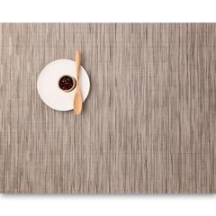 Салфетка подстановочная, жаккардовое плетение, винил, (36х48) Dune (100105-010) CHILEWICH Bamboo арт. 0025-BAMB-DUNE