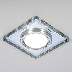 Встраиваемый точечный светильник со светодиодной подсветкой 2229 MR16 SL зеркальный/серебро Elektrostandard