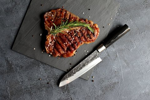 Набор из 3 кухонных ножей Samura BLACKSMITH SBL-0220/K