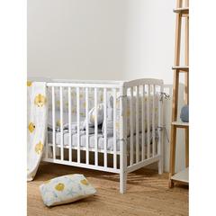 Простыня детская из сатина светло-серого цвета из коллекции Essential, 160х270 см Tkano TK20-KIDS-SH0008