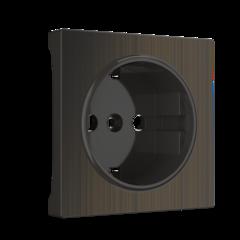 Накладка для розетки (бронзовый) WL12-SKGS-IP20-CP Werkel