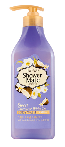 Гель для душа Shower Mate Кокос и белый чай 550г 876763