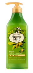 Гель для душа Shower Mate Оливки и зеленый чай 550г 876756