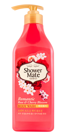 Гель для душа Shower Mate Роза и вишневый цвет 550г 892411