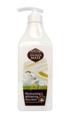 Гель для душа Shower Mate Увлажняющий с козьим молоком 550г 259320