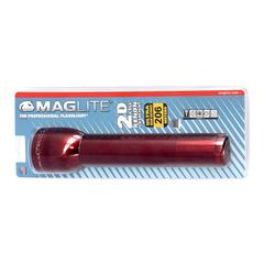 Фонарь MAGLITE, 2D, красный, 25 см, в блистере S2D036E