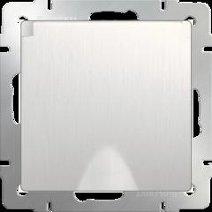 Розетка влагозащ. с зазем. с защит. крышкой и шторками (перламутровый рифленый) WL13-SKGSC-01-IP44 Werkel