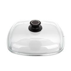 Крышка стеклянная квадратная 26x26 см AMT Glass Lids арт. AMTE26