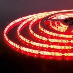 Светодиодная лента 2835/60 LED 4.8W IP65 красный свет Elektrostandard