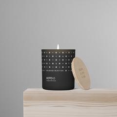Свеча ароматическая KOTO с крышкой, 200 г (новая) SKANDINAVISK SK20106