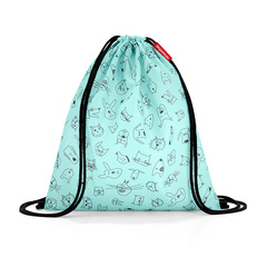 Мешок детский Mysac cats and dogs mint Reisenthel IC4062*