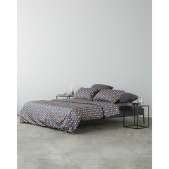 Комплект постельного белья полутораспальный из сатина с принтом Triangles из коллекции Wild Tkano TK20-DC0001