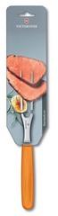 Вилка Victorinox кулинарная, 15 см, оранжевая 5.2106.15L9B