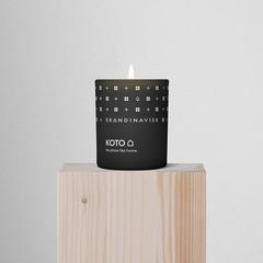 Свеча ароматическая KOTO с крышкой, 65 г (новая) SKANDINAVISK SK20206