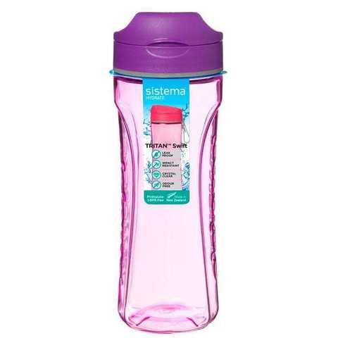 Бутылка для воды из тритана 600 мл Sistema HYDRATE 640