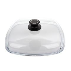 Крышка стеклянная квадратная 28x28 см AMT Glass Lids арт. AMTE28