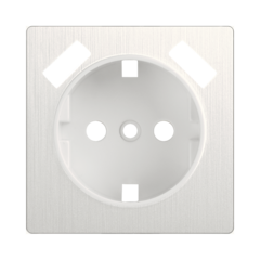 Накладка для USB розетки (перламутровый рифленый) WL13-USB-CP Werkel