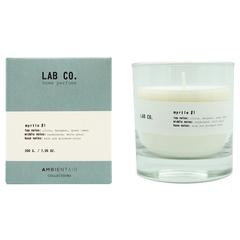 Свеча Ambientair ароматическая LAB CO, Мирт, 40 ч VV040SBLB