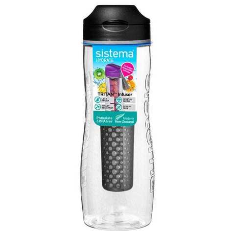 Бутылка для воды из тритана с диффузором 800 мл Sistema HYDRATE 660