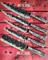 Нож кухонный Шеф 209мм Samura METEORA SMT-0085/Y