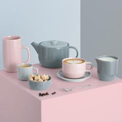 Чашка для каппучино Cafe Concept 400 мл розовая TYPHOON 1401.820V