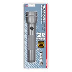 Фонарь MAGLITE, 2D, серый, 25 см, в блистере S2D096E