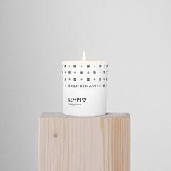 Свеча ароматическая LEMPI с крышкой, 65 г (новая) SKANDINAVISK SK20205