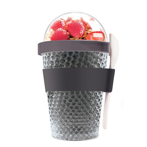 Контейнер Asobu Chill yo 2 go (0,38 литра) серый