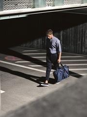 Сумка складная Mini maxi touringbag dark blue Reisenthel AD4059