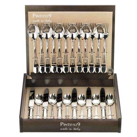 Набор столовых приборов (24 предмета/6 персон) Pinti 1929 Pitagora (подарочная уп.) 0810S091