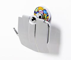 Diemel K-2225 Держатель туалетной бумаги с крышкой WasserKRAFT Серия Diemel K-2200